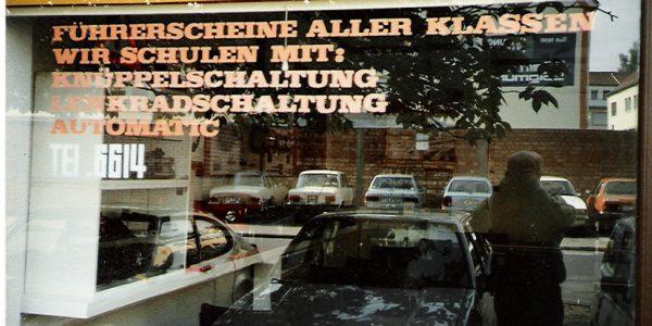 Fahrschule Ritterstraße 1975