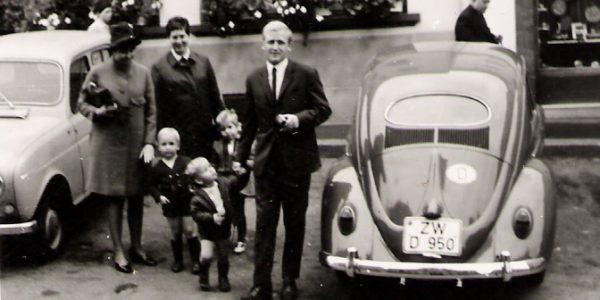 Günther mit Lilo, Thomas und Stefan