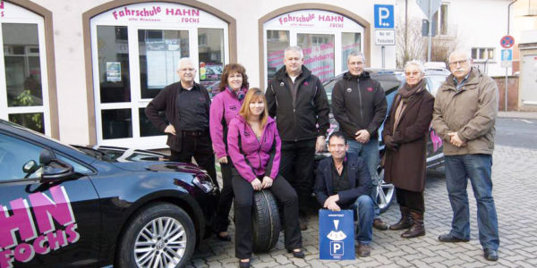 Das Team der Fahrschule Hahn & Fochs zum 50jährigen Jubiläum